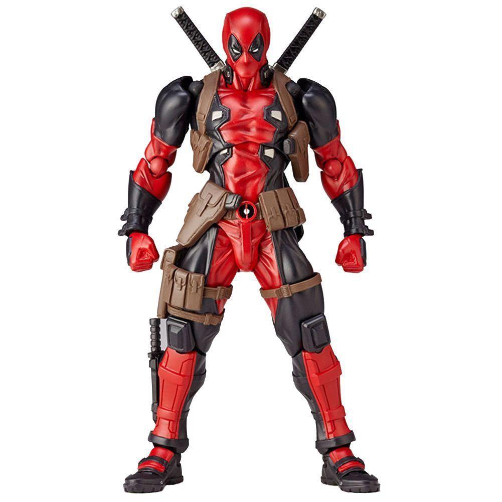 No.001 DEADPOOL Heros X-men Hero Action Figure Revoltech Kaiyodo Verison Toy x1