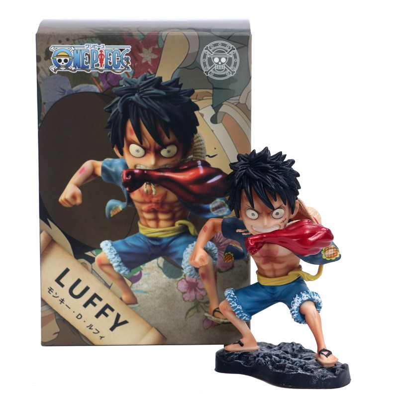 Toys & Hobbies Luffy Gk Gear Fourth Luffy Action Figure Snakeman Collectible Model Toy Jade White Anime One Piece Monkey D