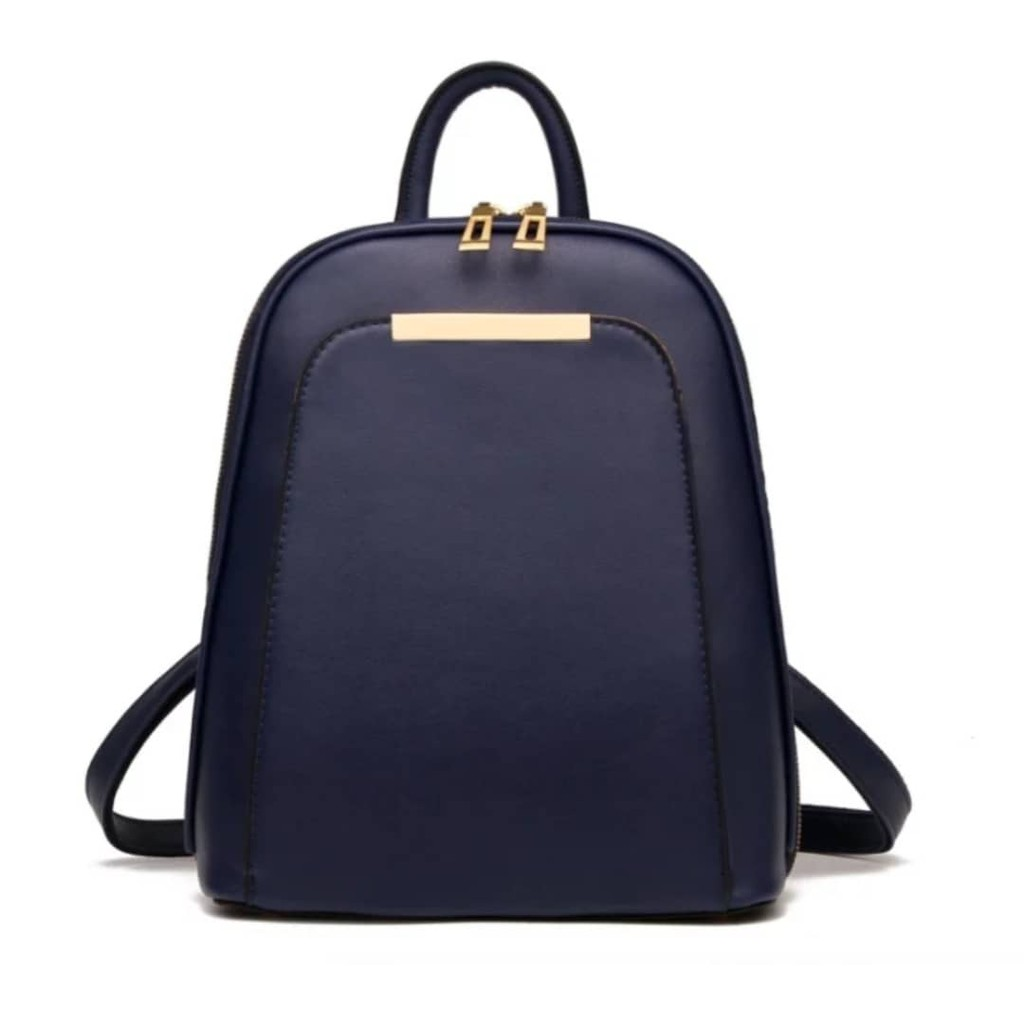 Bag Backpack Good Quality Anti Thief Bag Blue