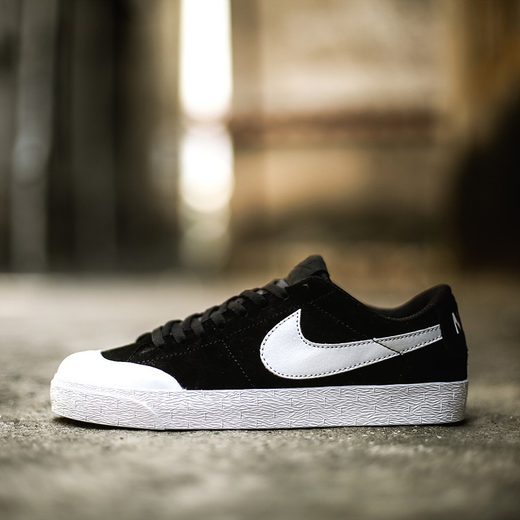 info for 8005a ffbee Original NIKE SB Blazer Zoom Low XT Sports Shoes Fashion Shoes Mens Black  White
