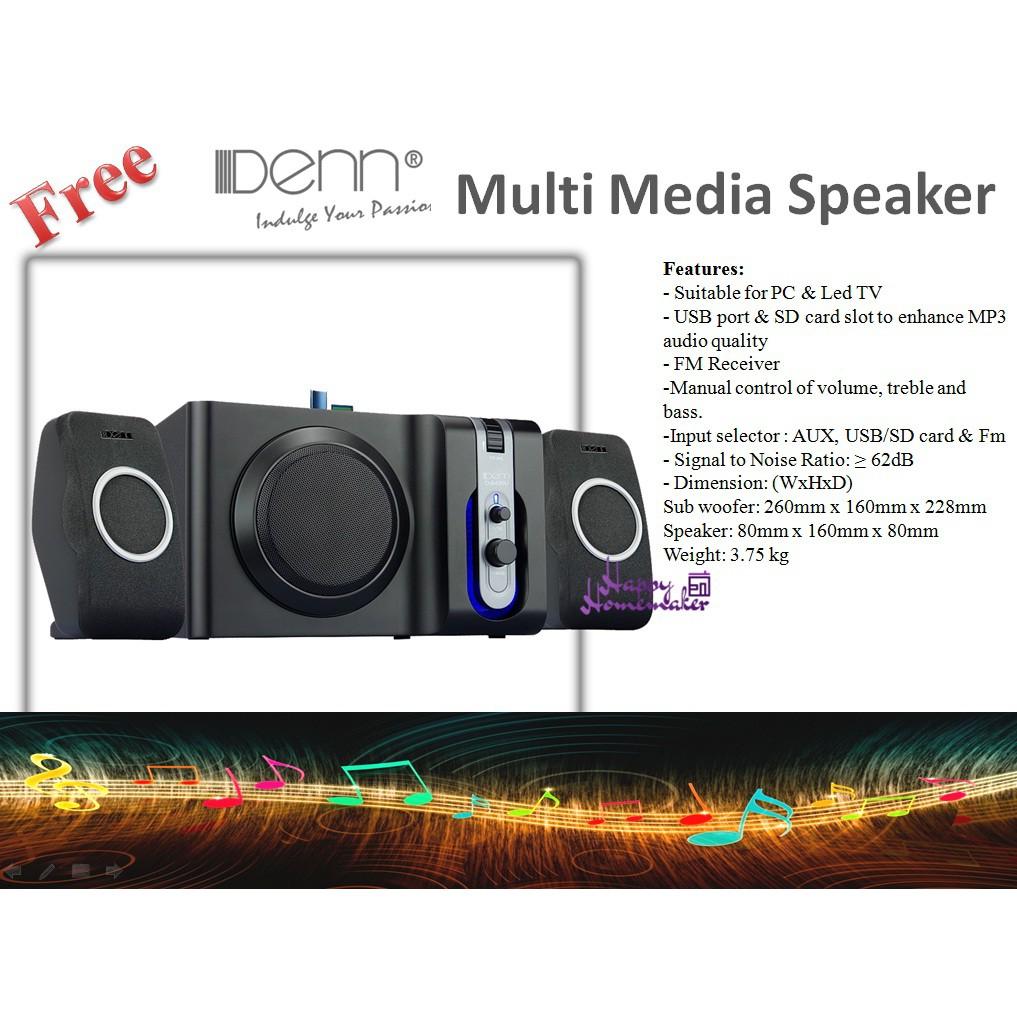 """Haier 42"""" Full HD Led TV(Free Multi Media Speaker)"""