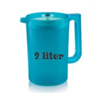 Tupperware Blossom Pitcher 2L Turquoise