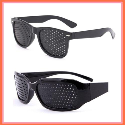 Black Vision Care Pinhole Eye Glasses Spek Mata Ibn Sina