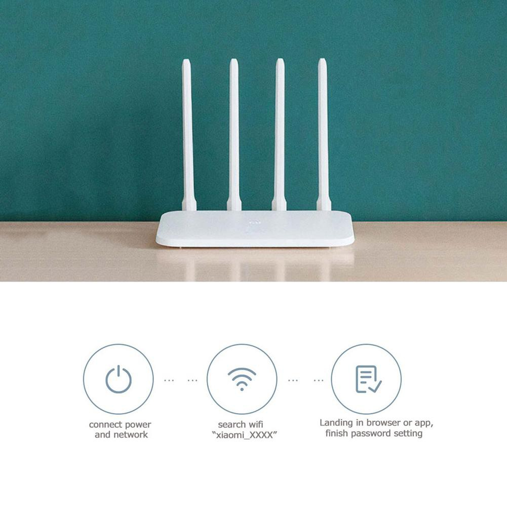 Xiaomi Mi Router 4C 4 Antenna 2 4G 300Mbps APP Control WiFi Wireless Router