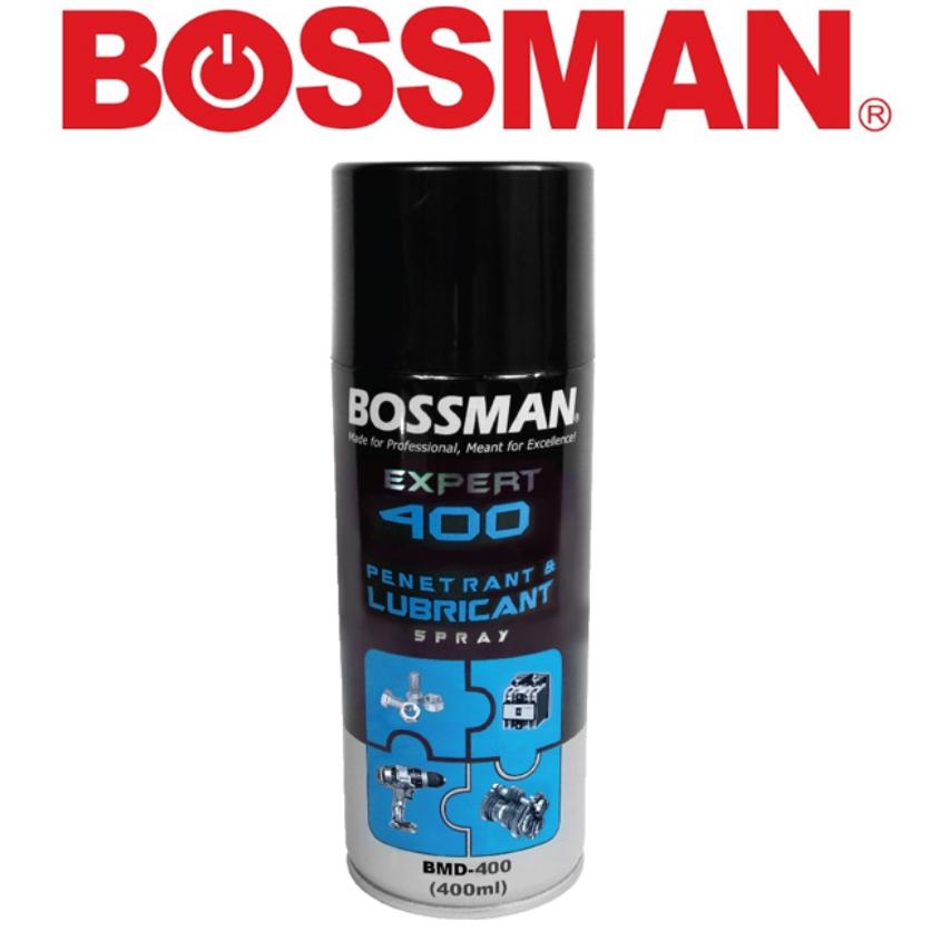 READY STOCK !BOSSMAN BMD-400 EXPERT PENETRANT AND LUBRICANT SPRAY 400ML