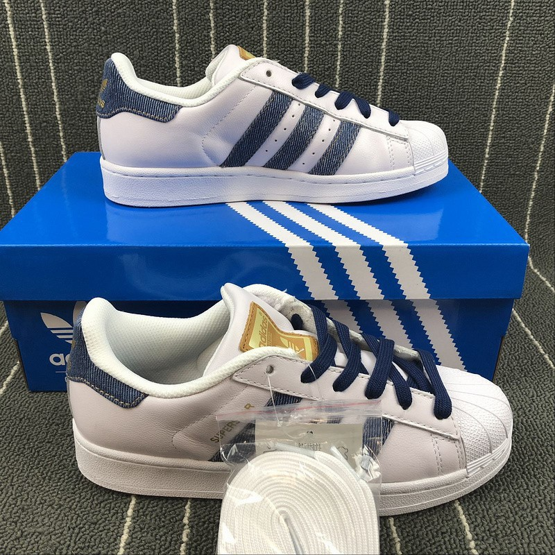 adidas superstar dark blue