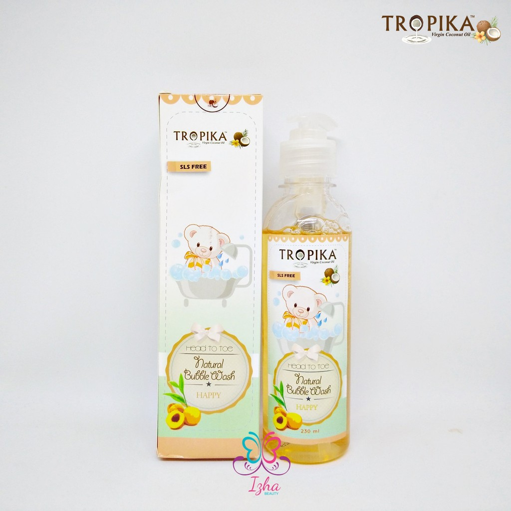 [TROPIKA] Natural Bubble Wash (Happy) - 230ml