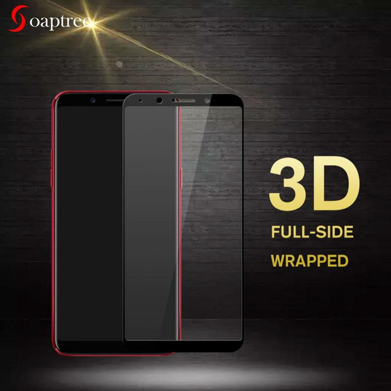 3D Tempered Glass Film for OPPO F5 F7 F9 R15 Pro F1s F1 R7