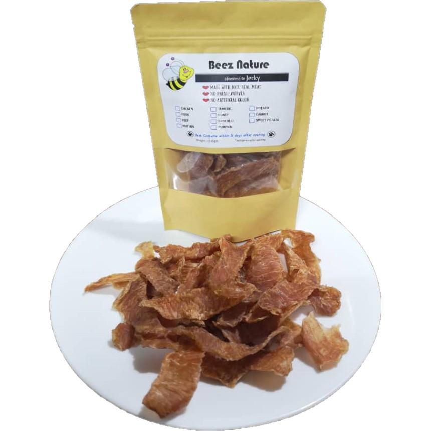 (100g) Homemade Dehydrated Pork Jerky for furkids