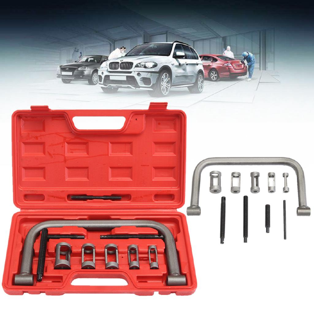 Valve Spring Compressor Tool Kit For Car Motorcycle Vehicle Petrol Engines