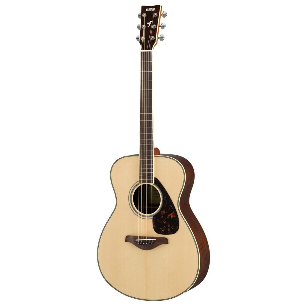 Yamaha FS830 40 Concert Solid Spruce Top Acoustic Guitar Natural (FS 830)