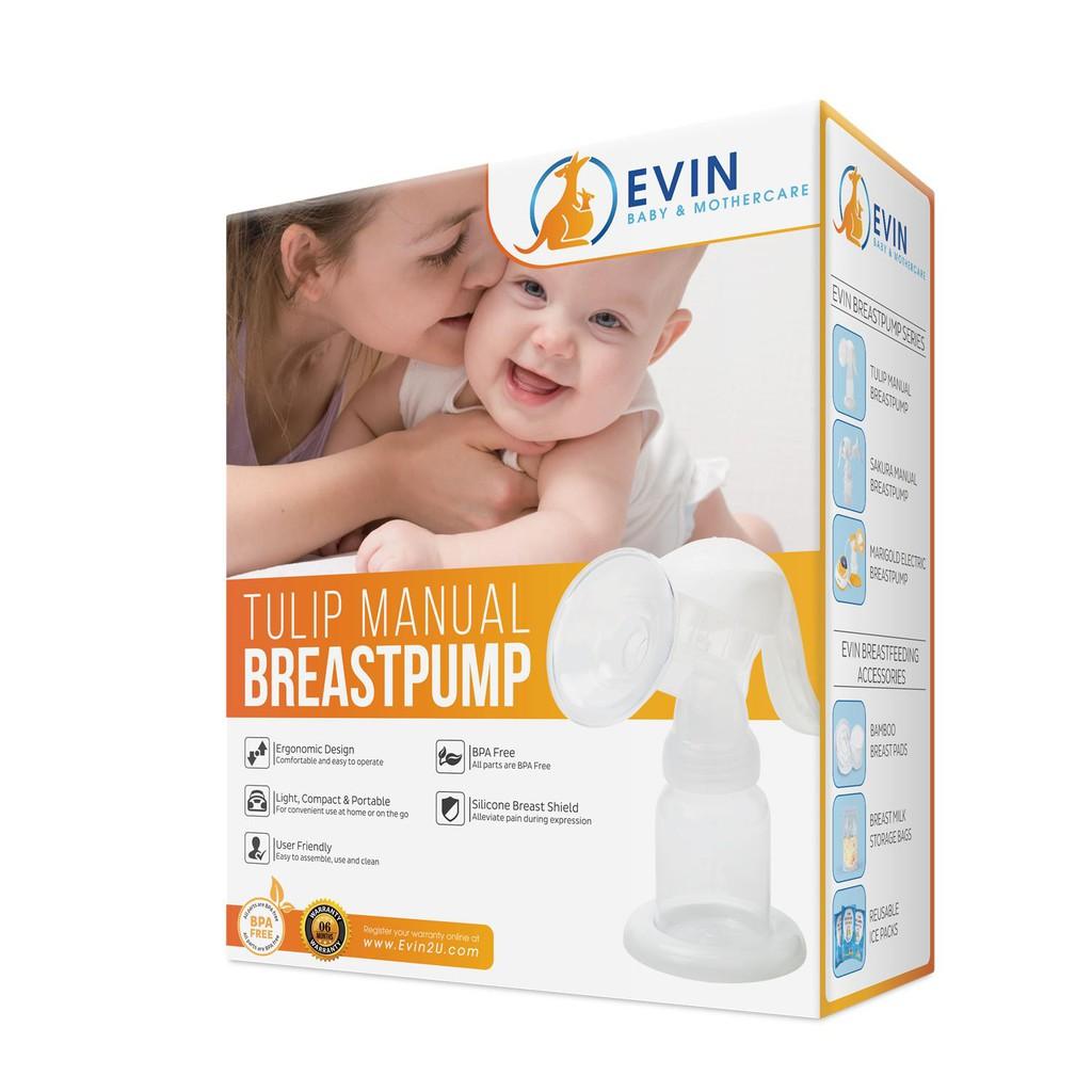 Evin Tulip Manual Breast Pumps