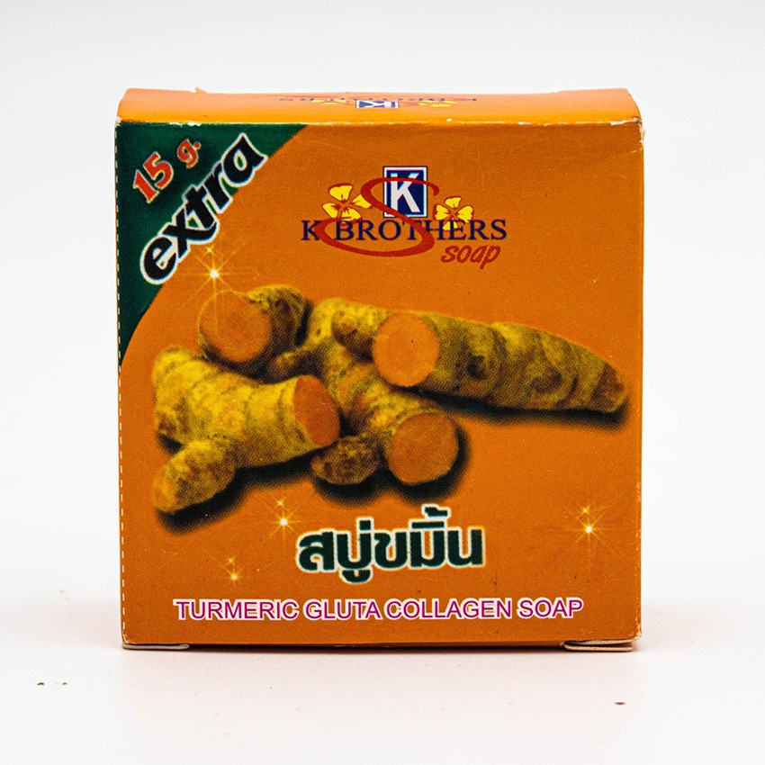 K BROTHERS TURMERIC GLUTA COLLAGEN SOAP