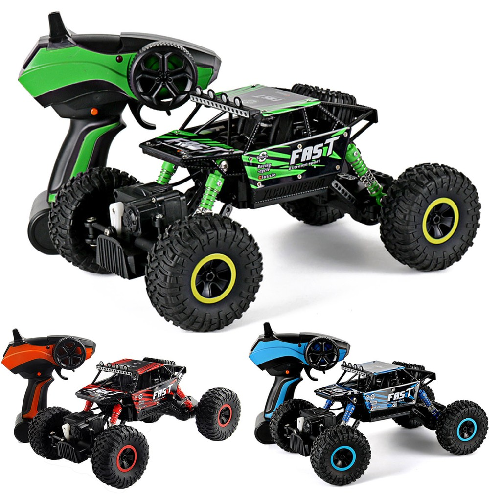 2 4ghz Of Rc Remote Control Electric Fast Racing Crawler Truck