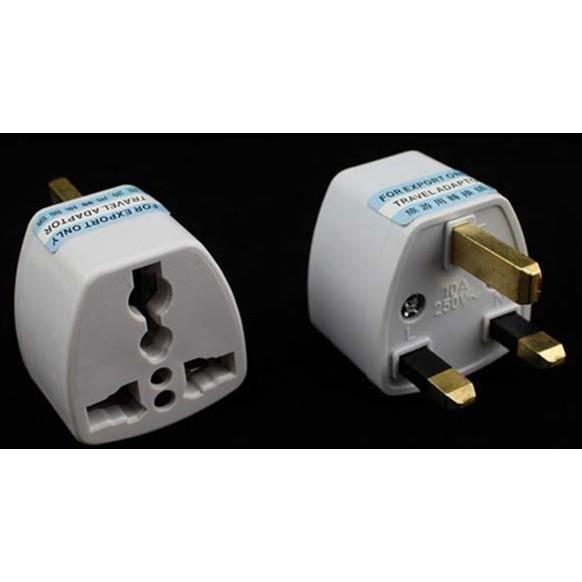 UK 3pin Universal Multi Power Travel Plug Converter Adaptor plug socket