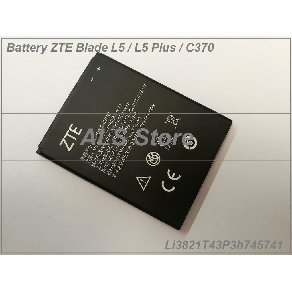 Replacement Battery Zte Blade L5 Plus C370 Li3821t43p3h745741 Lux V830w G Kis 3 Max Li3818t43p3h695144 Shopee Malaysia