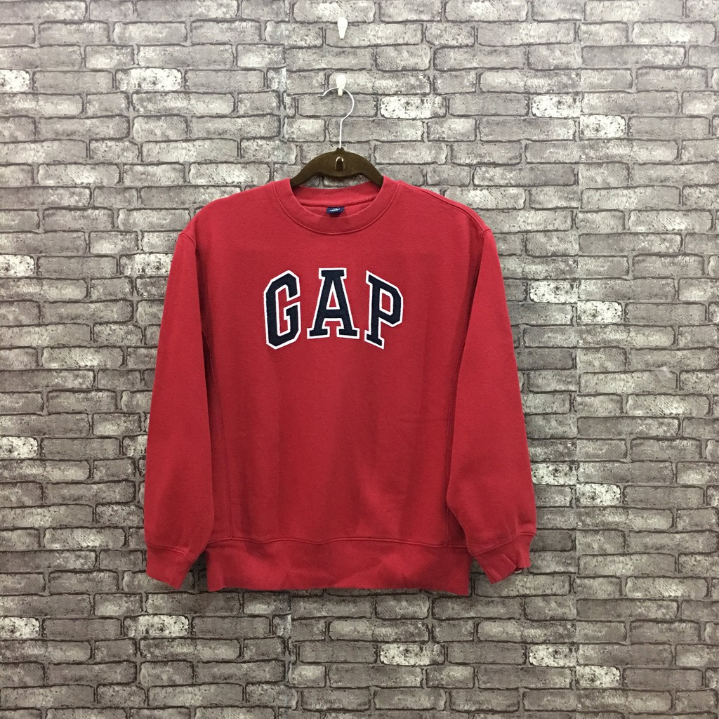 83057e4bfb440 GAP New York Sweatshirt/ Spellout Jumper Pullover