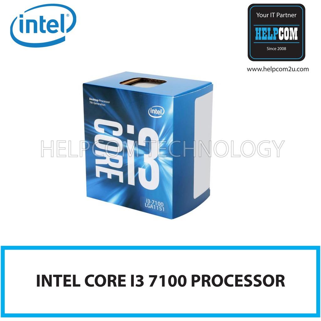 Intel Core I3 4170 37ghz 3m Cache Dual Cpu Processor Sr1pl I7 4790 34 Box Socket 1150 Lga1150 Shopee Malaysia