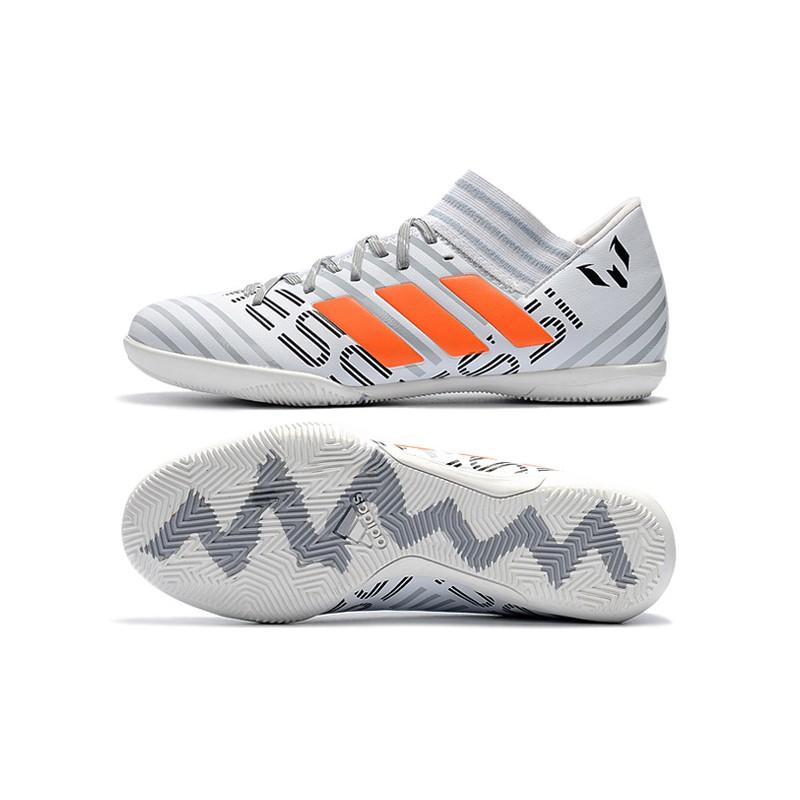 cf18d3bc0 adidas Nemeziz Tango 17.3 IC gold mens low top messi soccer football shoes  39-45