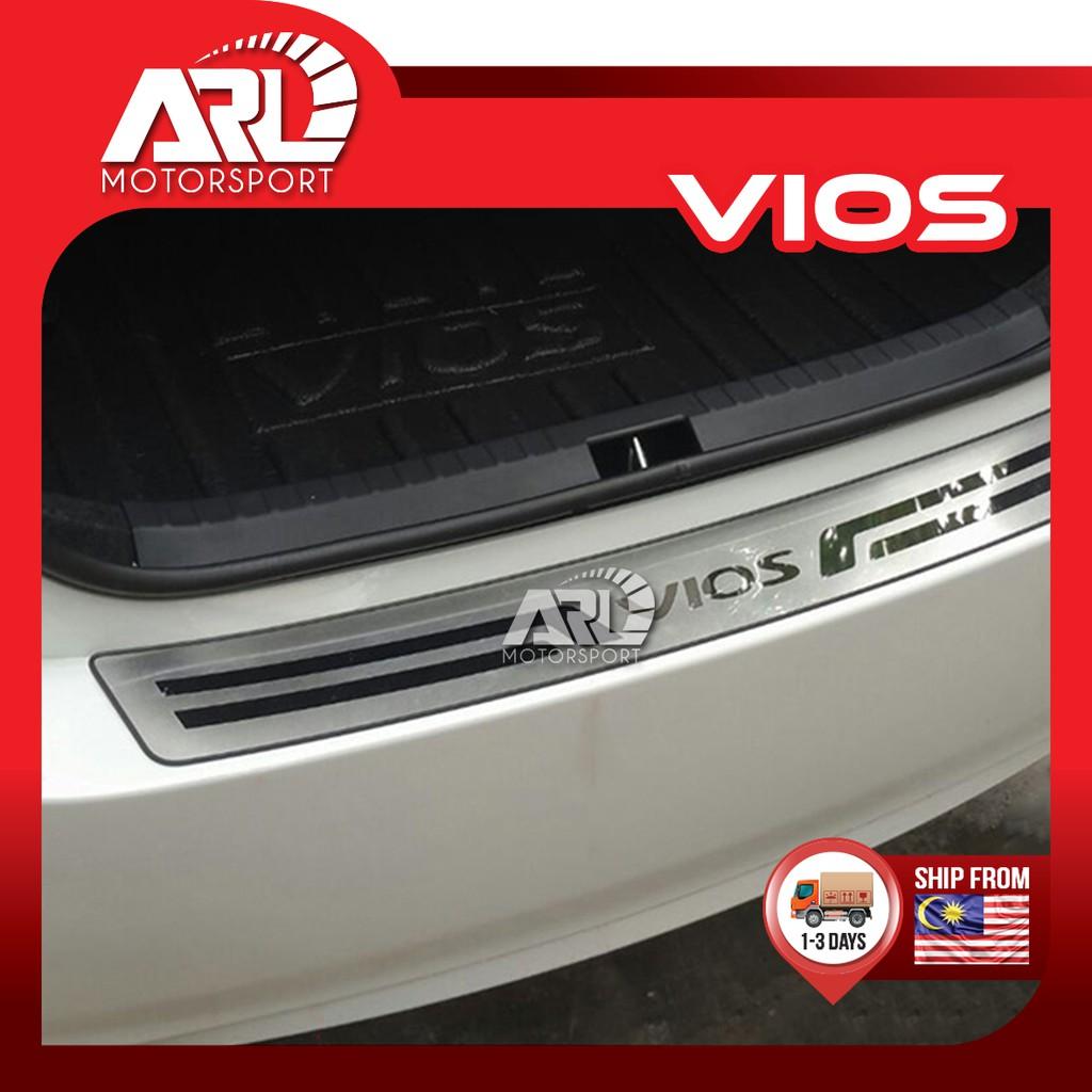 Toyota Vios (2013-2018) NCP150 Rear Bumper Protector (Type B) With Logo Vios Chrome Car Auto Acccessories ARL Motorsport