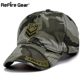 5b2cf435c32a68 Fashion Military Style Men Camouflage Baseball Cap US Army Tactical CP Hat
