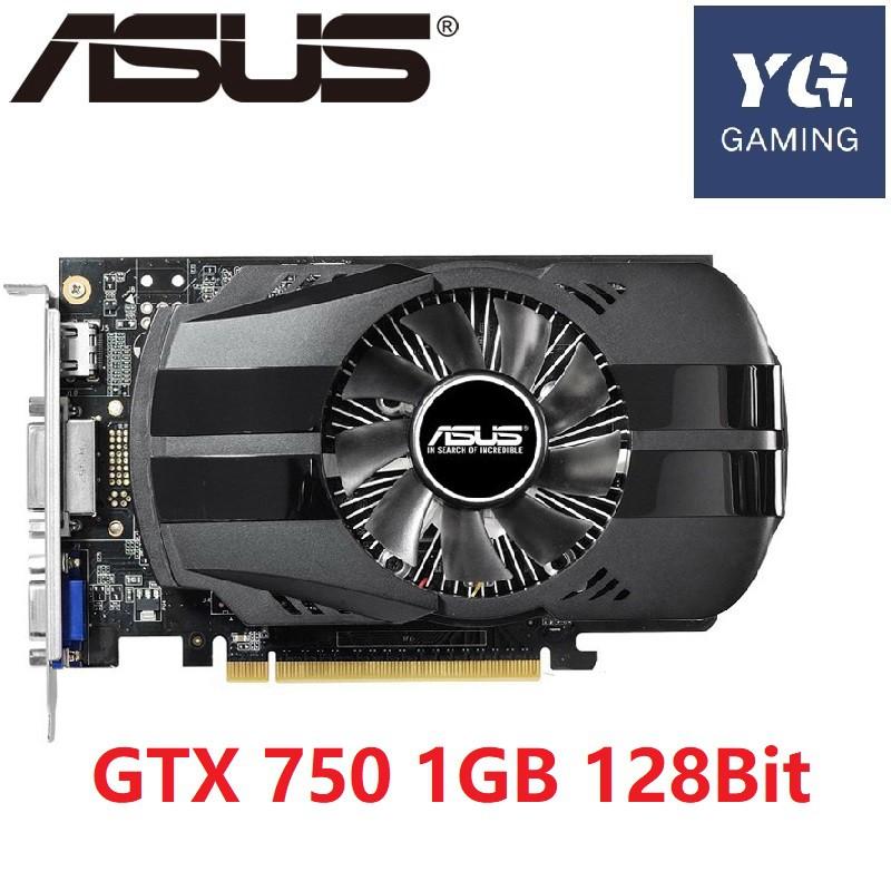 ASUS Graphics Card Original GTX 750 1GB 128Bit GDDR5  Video Cards for nVIDIA