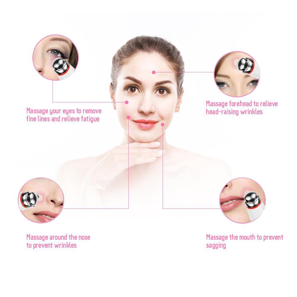 Electric Vibration Remove Wrinkles Fine Lines Eye Massager   Shopee