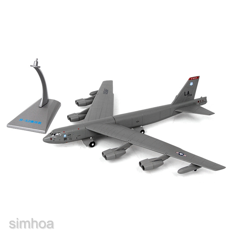 1//200 Alloy Flugzeuge American B 52 Bomber Aircraft Model Tabletop Decor