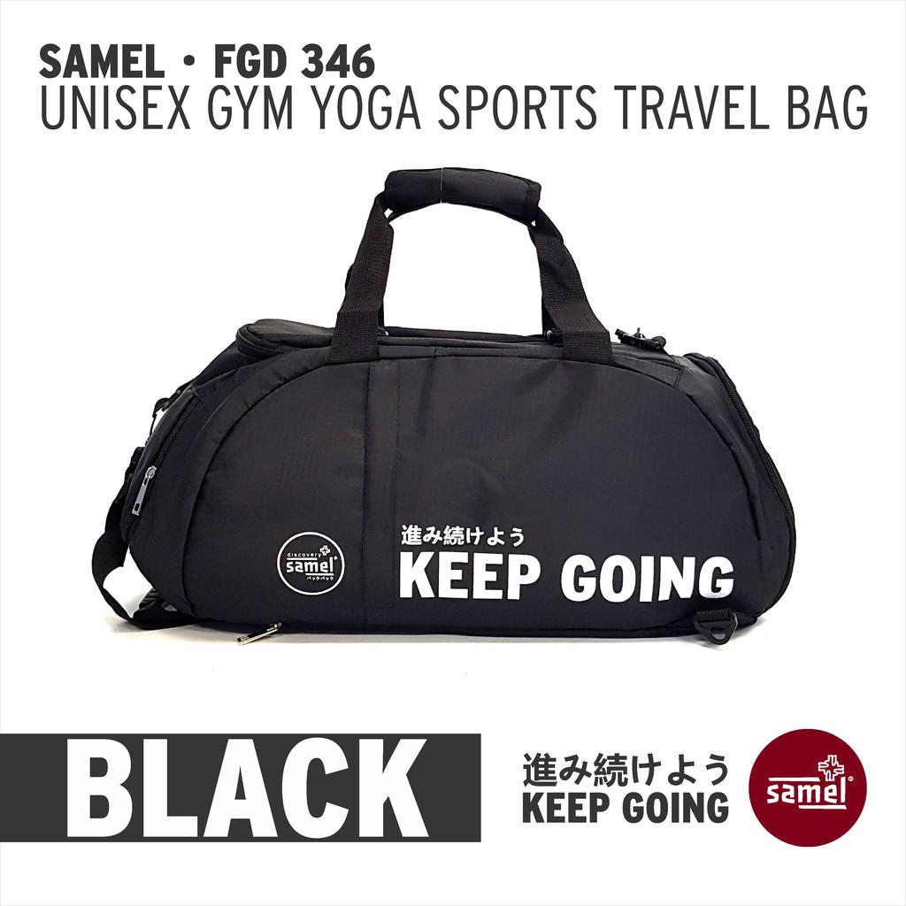 FGD 346 UNISEX GYM YOGA SPORTS TRAVEL BAG