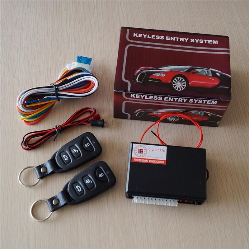 Universal Car Remote Control Central Lock Kit Door Locking Car Alarms