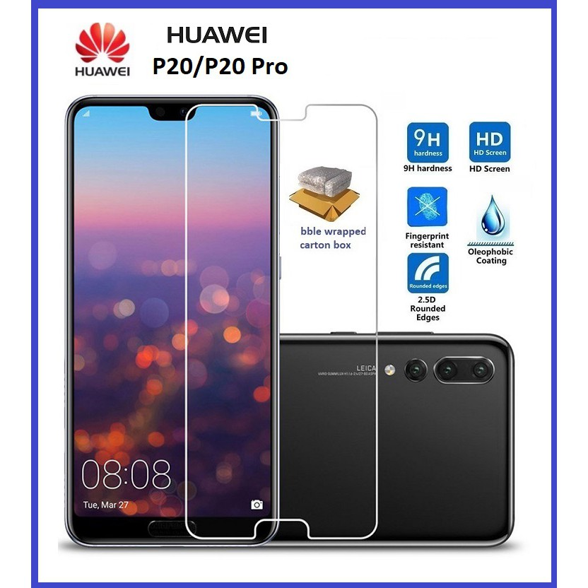 (Normal) Huawei Nova 2i 2Lite 4 4E 3E 5T 7 7i 7se Y3 Y6 2018 Y9 Y5 Y5c P9 Honor 20 5c 8C 8X 10Lite Clear Tempered Glass