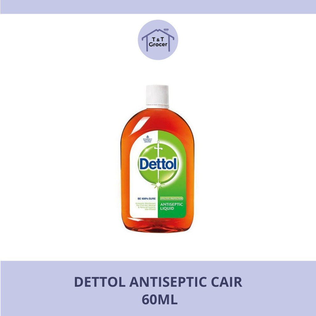 Dettol Antiseptic Cair 60ml