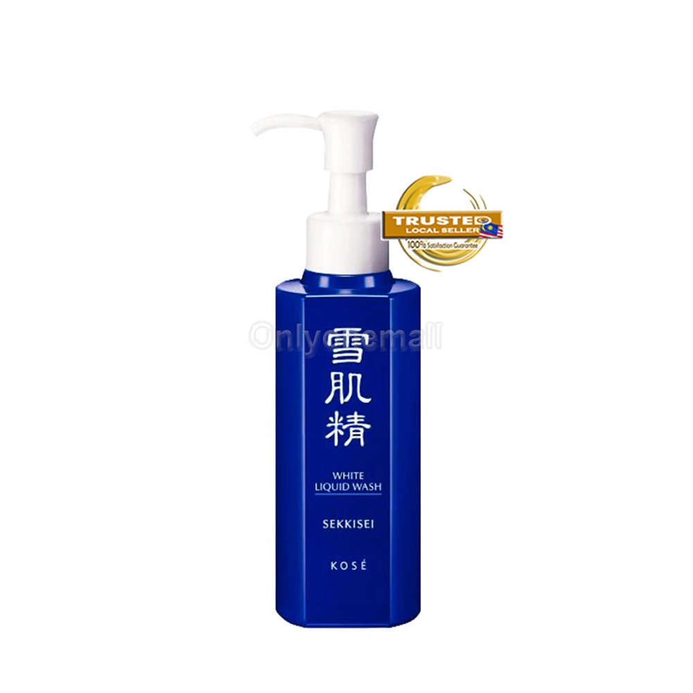 Kose SEKKISEI White Liquid Wash 140ml (With Free Gift)