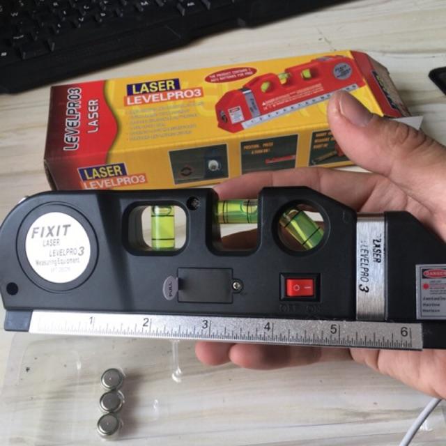 Tahap Laser Horizontal Tool Level Ruler Measuring Decorating Alat  mengukur激光水平仪
