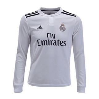 wholesale dealer 8ddb1 f43f2 2018/19 Real Madrid Fan version long sleeve men jersey ...