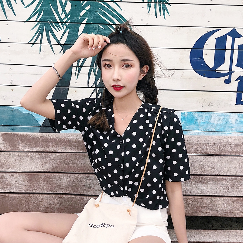 Lady Blouse Normal Tops Explosion Models Shirts Chic In Stock New