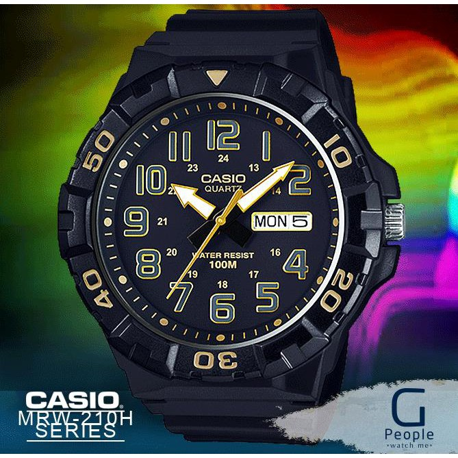 CASIO MRW-210H-1A2V / MRW-210H-1A2 / MRW-210H X LARGE WATCH 100% ORIGINAL