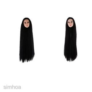 1//6 Scale Accessories Custom Head Sculpt Carving Female KUMIK 13-96 Hair
