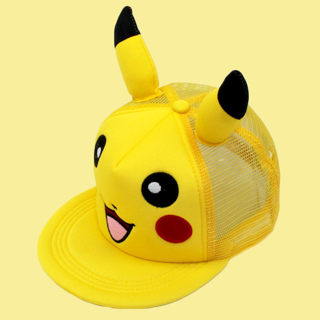 Kleidung & Accessoires Fashion Anime Cartoon Pokemon Pikachu Baseball Caps For Parent-child Adult Children Hip Hop Hats Sun Hat Outdoor Shade Cap