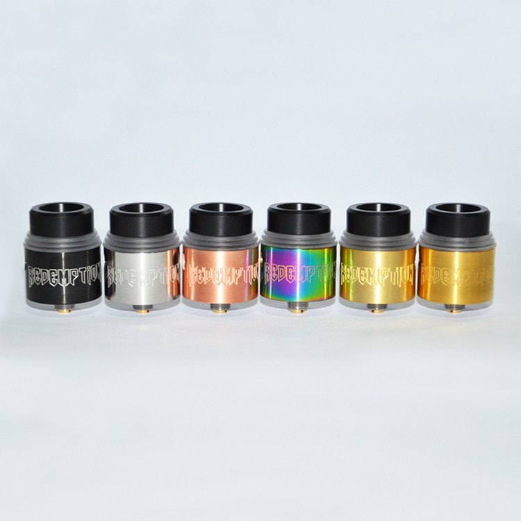 redemption RDA tank colorful atomizer ecig vaprozier in stock