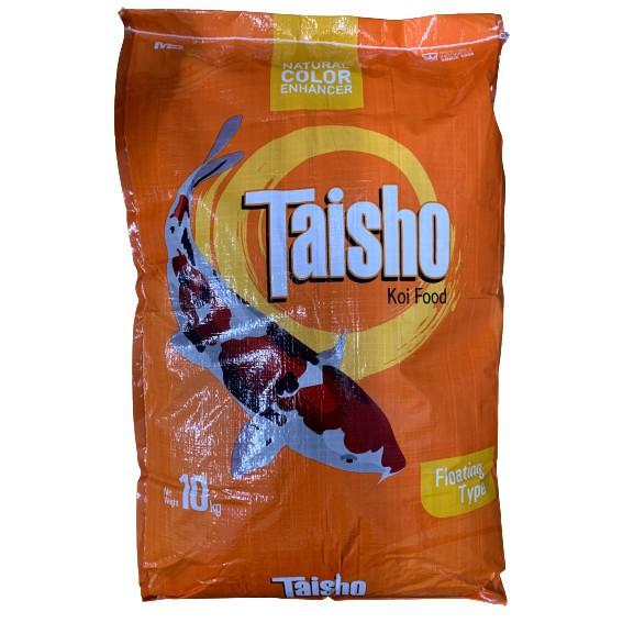 TAISHO KOI FOOD 10kg FLOATING TYPE - Makanan Ikan Koi (Terapung)
