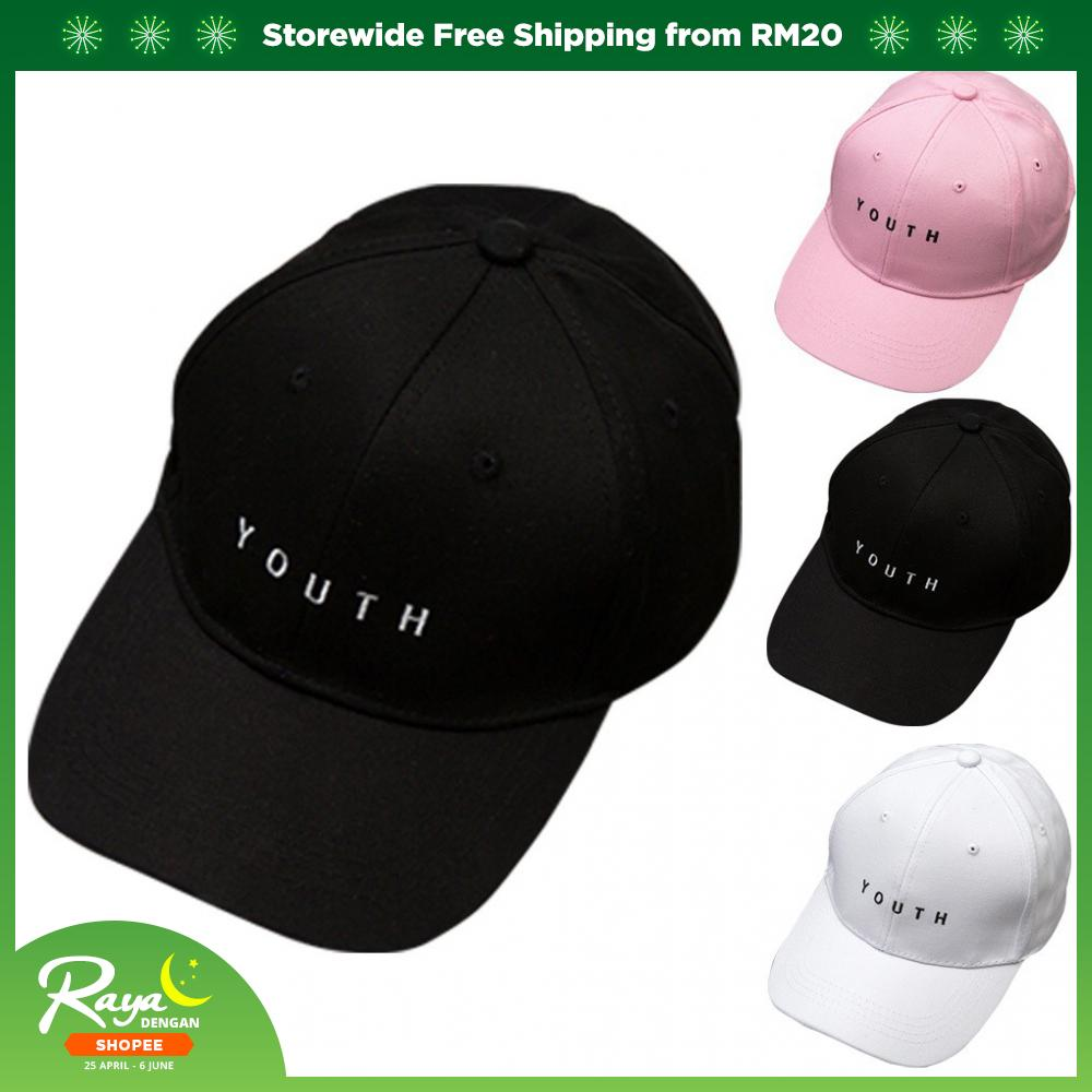 3efd085e55d6b Hot Sale Women Men s Adjustable Baseball Cap Letter Youth Printed Sun Cap  Hat