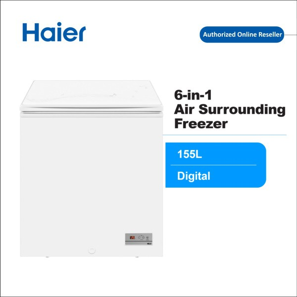 Haier 332L BD-322HEF 6in1 Digital Touch Control Chest Freezer