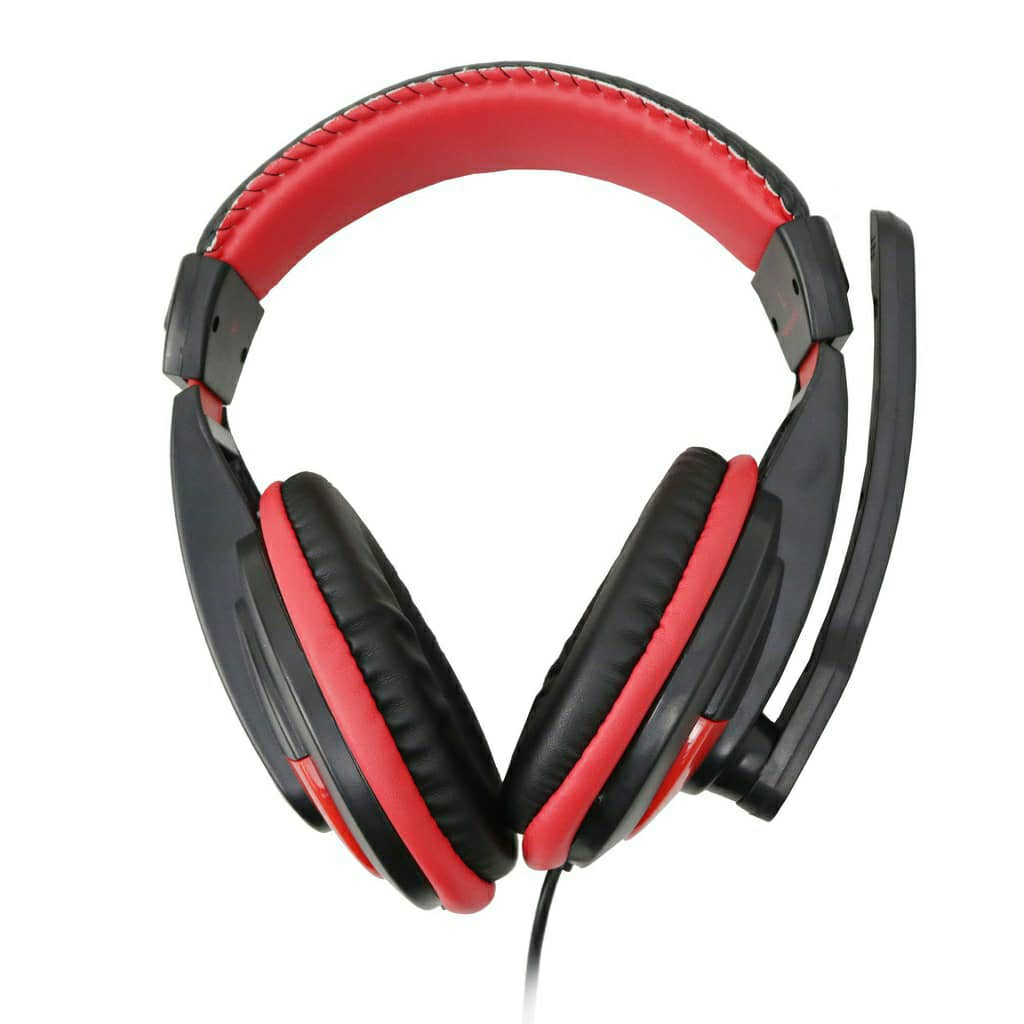 AVF SURF 5 HM-SURF 5 GAMING HEADSET WITH MICROPHONE SUPPORT PHONE PC DESKTOP GAMING HEADPHONE MIC EARPHONE EARBUDS