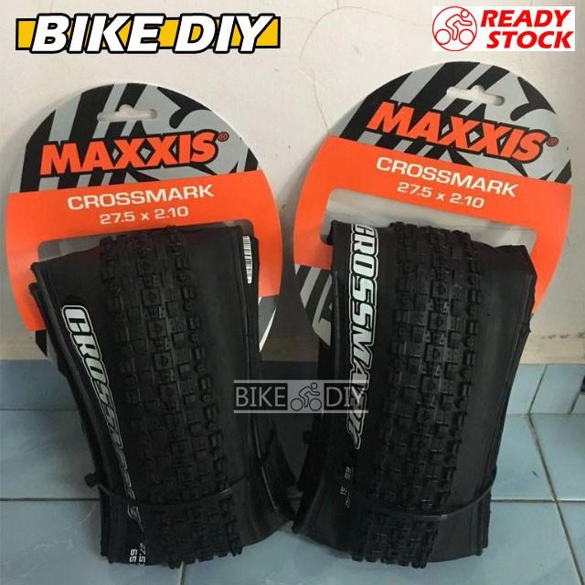 2x MAXXIS CROSSMARK Bike Tire MTB Tire 27.5*2.1//27.5*1.95 Outer Tyre 60 TPI