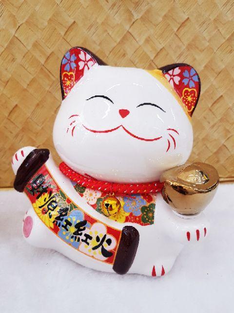 🐈💰 Fortune Cat Piggy Bank / 招财猫 扑满(18cm height ) 🐈💰