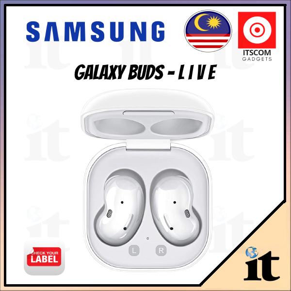[Ready Stock] New Samsung Galaxy Buds Live SM-R180 Wireless Bluetooth Earphones