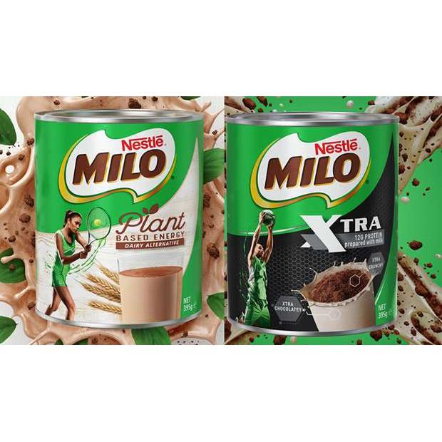 Milo Australia ( Xtra/ Plant Based) 395G