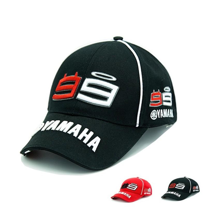 d422a2c3c MOTOGP Baseball Cap Jorge Lorenzo 99 Cap Motorcycle Fans Signature Hats