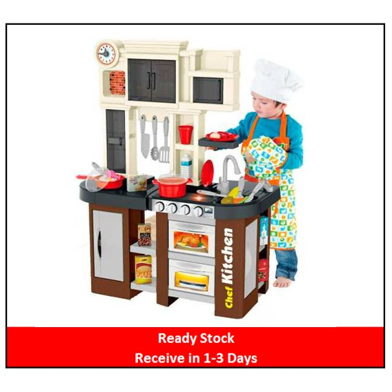 Ready Stock🌟Talented chef Kitchen Set Role Play Sink with ...